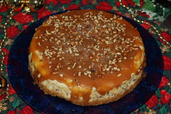 Caramel Pecan Cheesecake 1
